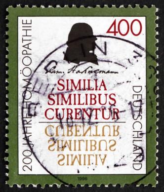 Postage stamp Germany 1996 Samuel Hahnemann, German Physician